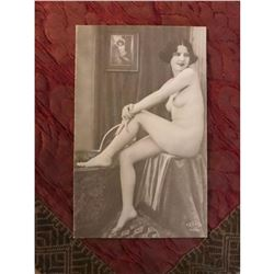 Vintage French Nude Postcard