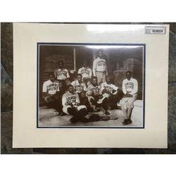 African American History, Tuskegee Institute Baseball Team Sepia Tone Photo Print