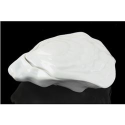 Limoges Porcelain Oyster Shell Trinket Box