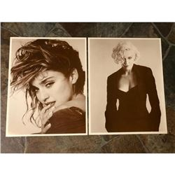 Vintage Madonna Sepia Photo Prints