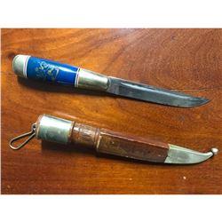 Vintage Finnish Puukko Hunting Knife & Sheath