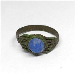 Byzantine 12th - 13th Century Russian Kiev Copper Artifact Ring
