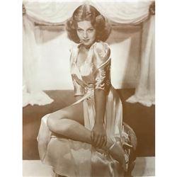 Hollywood Glamour, Lana Turner Sepia Photo Print