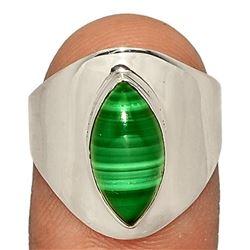 Malachite & Sterling Silver Ring