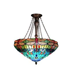 Dragonfly 3-Light Inverted Ceiling Pendant