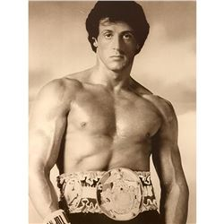 Sylvester Stalone, Rocky Balboa Boxing Movie Still