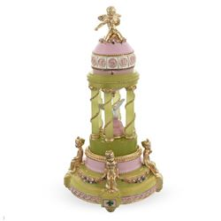 Colonnade Royal Russian Faberge Inspired Music Box Egg