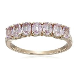 1.4ctw Pink Sapphire 10K Rose Gold Ring