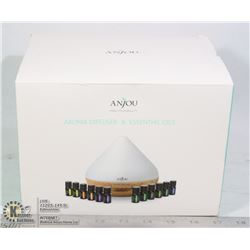 ANJO AROMA DIFFUSER AND ESSENTIAL OILS SET