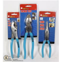 SEALED 3 PROGRADE PLIERS