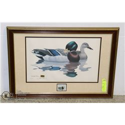 ARTIST RICHARD SLOAN NWP DUCK