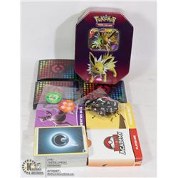 VARIOUS BOOSTER PACKS IN COLLECTORS TIN