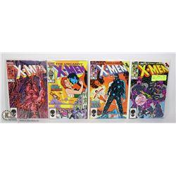 MARVEL UNCANNY X-MEN COMIC LOT #202-205