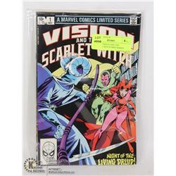 MARVEL VISION AND THE SCARLETT WITCH MINI SERIES