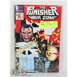 MARVEL THE PUNISHER WAR ZONE #1-5 COMIC LOT