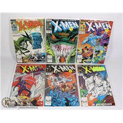 MARVEL UNCANNY X-MEN COMIC LOT #228-233