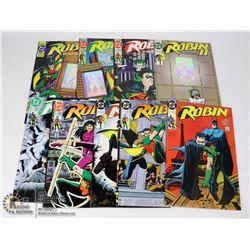 DC ROBIN MINI SERIES 1 & 2, JOKER'S WILD LOT