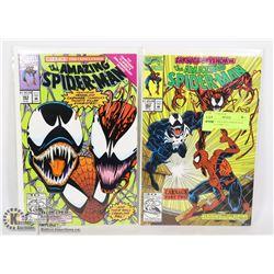 MARVEL AMAZING SPIDER-MAN #362, 363 COMIC LOT