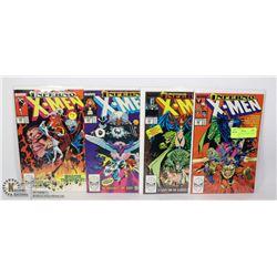 MARVEL UNCANNY X-MEN COMIC LOT #240-243