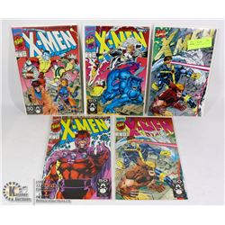 MARVEL X-MEN #1 COMIC LOT, ALL 5 COVERS