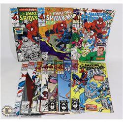 MARVEL AMAZING SPIDER-MAN #348-358 COMIC LOT