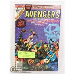 MARVEL AVENGERS ANNUAL #7 COMIC, THANOS STORY