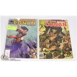 SAVAGE SWORD OF CONAN MAGAZINE #50 & 124