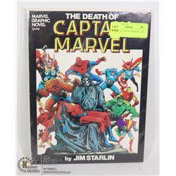 DEATH OF CAPTAIN MARVEL, 1ST PRINT