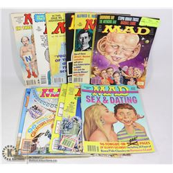 11 MAD MAGAZINE COMIC BOOKS 1993/1994