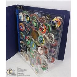COLLECTION OF COLLECTABLE POGS AND SLAMMERS