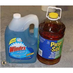 PINE SOL / WINDEX 5 GAL