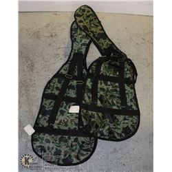 NEW CAMO GUITAR BAGS LOT OF 2