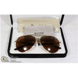 PAIR OF BEMKIA DESIGNER AVIATOR STYLE SUNGLASSES