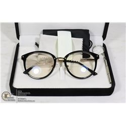 SOJOS DESIGNER GLASSES FRAMES WITH GLASS LENSES