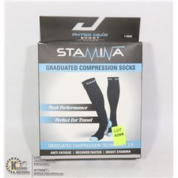 STAMINA GRADUATED COMPRESSION SOCKS
