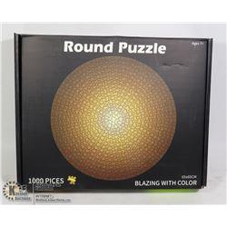 1000PC ROUND PUZZLE