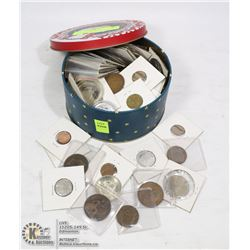 VINTAGE COIN COLLECTION MANY COINS 100+ YEARS OLD