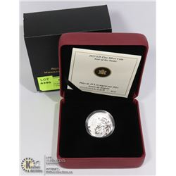 2013 CANADIAN FINE SILVER $20 YEAR OF THE SNAKE