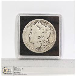1899 USA SILVER MORGAN DOLLAR COIN PHILADELPHIA.