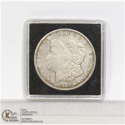 1921D USA SILVER MORGAN DOLLAR COIN
