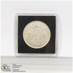 GREAT BRITAIN 1943 SILVER HALF CROWN COIN