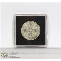 GREAT BRITAIN FLORIN (2 SHILLING) SILVER COIN 1921