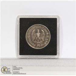 1935A NAZI GERMANY SILVER 5 MARK COIN