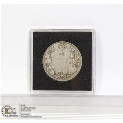 1920 CANADA GEORGE V SILVER 50 CENT COIN