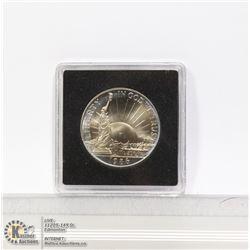 1986D USA HIGH GRADE 50 CENT COIN RAINBOW TONING