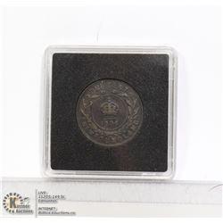1904 NEWFOUNDLAND LARGE CENT COIN HIGH GRADE