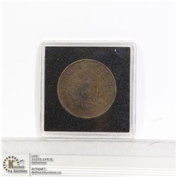 ARGENTINA 1892 LARGE 2 CENT COIN HIGH GRADE
