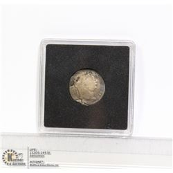 1817 KING GEORGE III SILVER 6 PENCE COIN