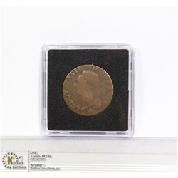 1791 FRANCE LOUIS XVI  ONE SOL COIN