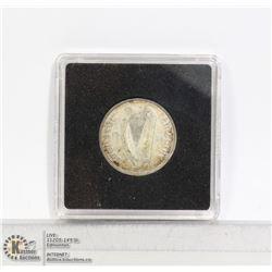IRELAND 1931 SILVER SHILLING COIN NICE CONDITION